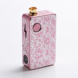 Authentic Ohm Vape AIO 42W Box Mod Pod System Starter Kit - Pink, 1 x 18650, Engraved Version