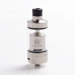ShenRay Value Greek Style MTL RTA Rebuildable Tank Atomizer - Silver, 316SS + Glass, 4ml, 22mm Dia. (Airflow Control Version)