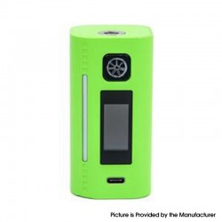 Authentic Asmodus Lustro 200W Touch Screen TC VW Variable Wattage Vape Box Mod - Light Green, 5~200W, 2 x 18650