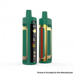 Authentic IJOY Jupiter 70W VW Box Mod Pod System Vape Starter Kit - Golden Green, 0.2ohm / 0.6ohm, 5~70W, 1 x 18650