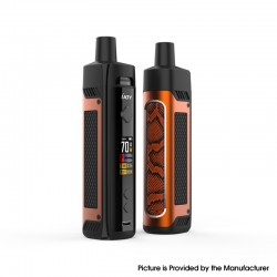 Authentic IJOY Jupiter 70W VW Box Mod Pod System Vape Starter Kit - Orange, 0.2ohm / 0.6ohm, 5~70W, 1 x 18650