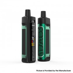 Authentic IJOY Jupiter 70W VW Box Mod Pod System Vape Starter Kit - Green, 0.2ohm / 0.6ohm, 5~70W, 1 x 18650