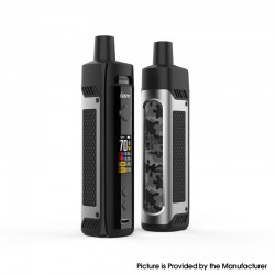 Authentic IJOY Jupiter 70W VW Box Mod Pod System Vape Starter Kit - Gunmetal, 0.2ohm / 0.6ohm, 5~70W, 1 x 18650