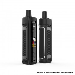 Authentic IJOY Jupiter 70W VW Box Mod Pod System Vape Starter Kit - Black, 0.2ohm / 0.6ohm, 5~70W, 1 x 18650