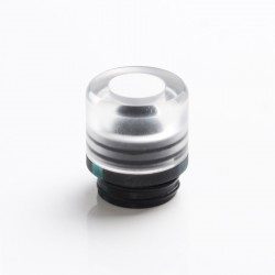 Replacement 810 Drip Tip for SMOK TFV8 / TFV12 Tank / Kennedy / Battle / Reload RDA - Translucent, POM + Acrylic, 18.15mm