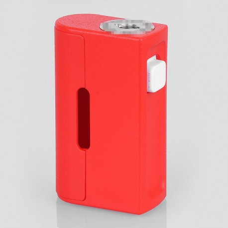 Boxer Style BF Squonk Mechanical Vape Box Mod - Red, ABS, 1 x 18650, 8ml Dropper Bottle