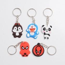 Gift Cute Lovely Beautiful Cartoon Style Keychain - Random color / Random Style