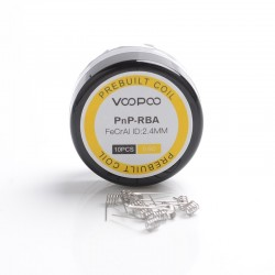 Authentic Voopoo Half-DL / MTL PnP-RBA Prebuilt Heating Wire Coil for Voopoo VINCI / VINCI X /VINCI R Vape Kit - 0.6ohm (10 PCS)