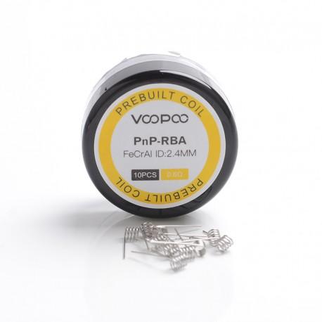 Authentic Voopoo Half-DL / MTL PnP-RBA Prebuilt Heating Wire Coil for Voopoo VINCI / VINCI X /VINCI R Vape Kit - 0.6ohm (10 PCS)