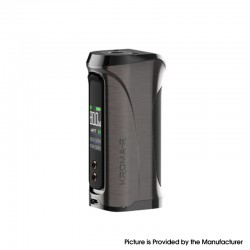 Authentic Innokin Kroma-R Zlide 80W VV VW Variable Wattage Box Vape Mod - Gun Metal, Zinc Alloy, 6~80W, 1 x 18650