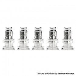 Authentic VapeSoon PnP-C1 MTL Ceramic Coil for Voopoo Finic P18 Aio/Drag Baby Trio/Find S Trio Kit - 1.2ohm (10~15W) (5 PCS)