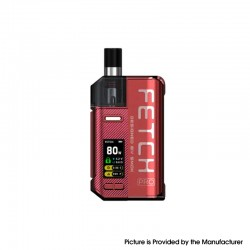 Authentic SMOKTech SMOK Fetch Pro 80W VW Mod Pod System Vape Starter Kit - Red, 4.3ml, 5~80W, 1 x 18650 (Standard Version)