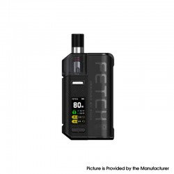 Authentic SMOKTech SMOK Fetch Pro 80W VW Mod Pod System Vape Starter Kit - Black, 4.3ml, 5~80W, 1 x 18650 (Standard Version)