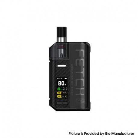 Authentic SMOKTech SMOK Fetch Pro 80W VW Mod Pod System Vape Starter Kit - Black, 4.3ml, 5~80W, 1 x 18650 (Standard Version)