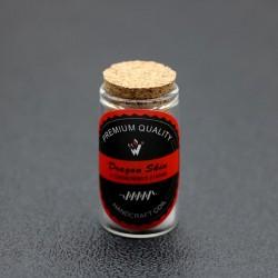 Authentic Vivismoke Handcrafted Dragon Skin Ni80 Coil + Organic Wick for RDA / RTA / RDTA Atomizers - Silver, 0.12ohm (2 PCS)