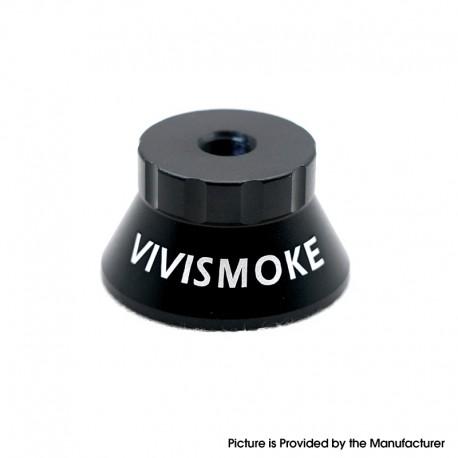 Authentic Vivismoke 510 Display Base Stand for RDA / RTA / RDTA / Sub Ohm Tank Atomizer / Clearomizer - Black, Aluminum Alloy