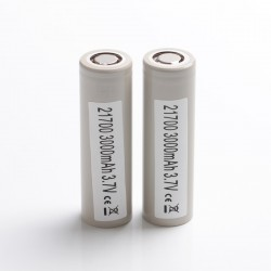 [Ships from Battery Warehouse] Authentic Samsung INR21700 30T 3000mAh 35A 21700 Rechargeable Lithium Batteries - (2 PCS)
