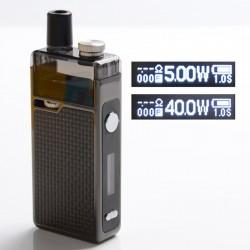 Sanvape Q8 Pro 40W VV VW Mod Pod System Vape Starter Kit - Carbon Fiber