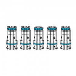 Authentic Aspire AVP Pro Pod Vape Kit / Cartridge Replacement Mesh Coil Head - Silver, 0.65ohm (5 PCS)
