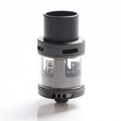 Authentic MadaoTech Airforce One V2 RDA Rebuildable Dripping Vape Atomizer - Black, Stainless Steel, 3.5ml, 23mm Diameter