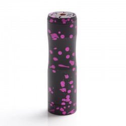 Authentic Timesvape Dreamer V1.5 Hybrid Mechanical Mech Vape Mod - Black + Pink Splatter, Copper, 1 x 18650 / 20700 / 21700