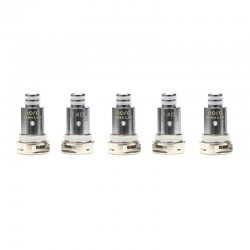 Authentic VapeSoon Replacement Regular Coil Head for SMOK Nord / Trinity Alpha /Fetch Mini Pod Vape Kit - Silver, 1.4ohm (5 PCS)