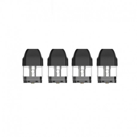 [Ships from Germany] Authentic Uwell Caliburn KOKO Pod System Replacement Pod Cartridge w/ 1.4ohm Coil - Black, 2ml (4 PCS)