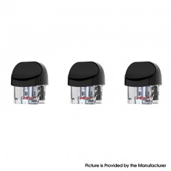 Authentic SMOKTech SMOK Nord 2 Pod System Vape Kit Replacement Empty RPM Pod Cartridge w/o Coils - Black, 4.5ml (3 PCS)
