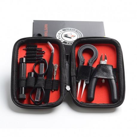 Authentic Vivismoke Vape Mini Tool Kit - Mini Cutter + Screwdriver + Tweezer + Scissor + Coil Brush + Tweezer + Coil Builder