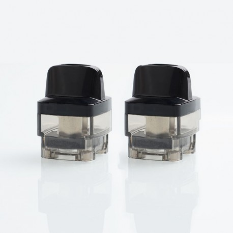 [Ships from Germany] Authentic VOOPOO VINCI Mod Pod Replacement Empty Pod Cartridge - Black, PCTG, 0.1~3.0ohm, 5.5ml (2 PCS)