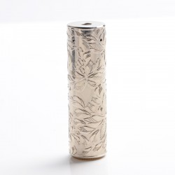Match Stick Style Hybrid Mechanical Mod - Silver, Brass, 1 x 18650