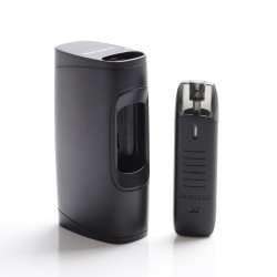 Authentic Uwell MarsuPod PCC 1000mAh Pod System Vape Starter Kit - Black, 1.3ml, 1.2ohm