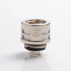 Authentic VapeSoon Replacement QF Meshed Coil Head for Vaporesso Skrr Sub Ohm Tank - Silver, 0.2ohm (50~80W)