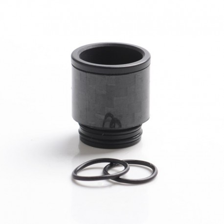 Authentic Reewape AS292 Replacement 810 Drip Tip for SMOK TFV8 / TFV12 Tank / Kennedy / Battle RDA - Black, Carbon, 18mm