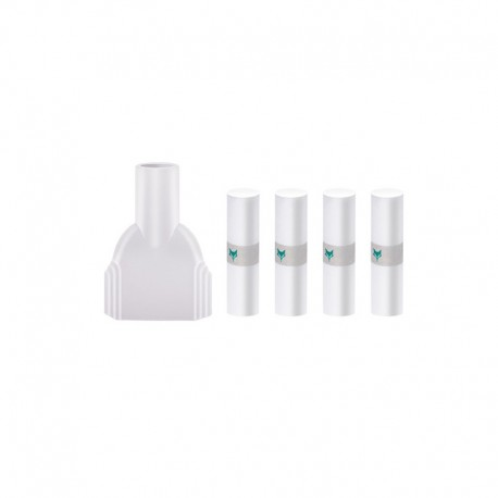 Authentic Kumiho Vaping Magic Connector + Filter Tip with Flavor Core Inside for Uwell Caliburn / Caliburn KOKO Pod Kit - White