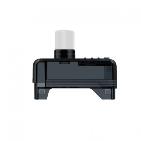 Authentic Hellvape GRIMM Pod System Vape Kit Repalcement Pod Cartridge w/o Coil - Black + White, PCTG, 3.0ml