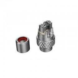 Authentic Hellvape Grimm Pod System Vape Kit / Cartridge Replacement RBA Rebuildable Coil Head - Silver