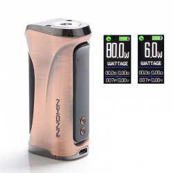 Authentic Innokin Kroma-R Zlide 80W VV VW Variable Wattage Box Vape Mod - Bronze, Zinc Alloy, 6~80W, 1 x 18650