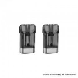 Authentic Vaporesso OSMALL Vape Pod System Replacement Regular Pod Cartridge - 2ml, 1.2ohm, (2 PCS)