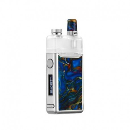 Authentic Orchid Vapor Orchid IQS 950mAh 30W TC VW Variable Wattage Pod System Vape Starter Kit - Resin Blue, 5~30W, 3ml, 0.8Ohm