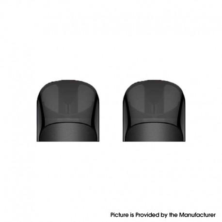 Authentic Suorin Shine Pod System Vape Kit Replacement Pod Cartridge w/ 1.0ohm Coil - Black, 2ml (2 PCS)