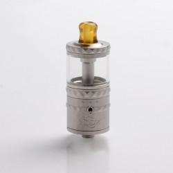 Authentic YDDZ V1 22mm RTA Rebuildable Tank Vape Atomizer - Silver, Stainless Steel, 4ml, 22mm Diameter
