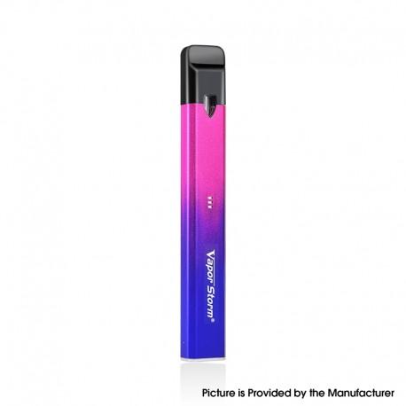 Authentic Vapor Storm Stalker 2 400mAh Pod System Vape Pen Starter Kit - Blue Red, 1.8ml, 1.3ohm