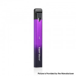 Authentic Vapor Storm Stalker 2 400mAh Pod System Vape Pen Starter Kit - Black Purple, 1.8ml, 1.3ohm