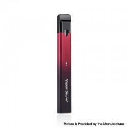 Authentic Vapor Storm Stalker 2 400mAh Pod System Vape Pen Starter Kit - Black Red, 1.8ml, 1.3ohm