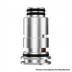 Authentic MECHLYFE Compact RBA Section Rebuildable Coil Head with 510 Thread for Geekvape Aegis Boost Pod System Kit - Silver