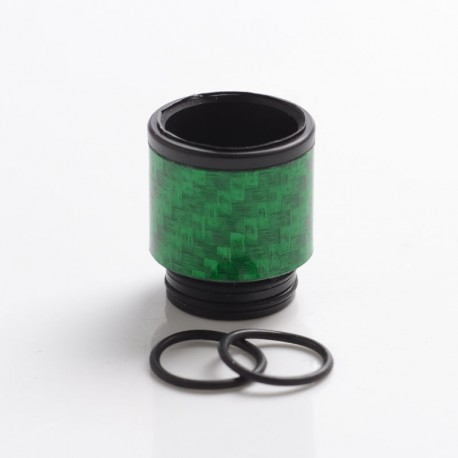 Authentic Reewape AS292 Replacement 810 Drip Tip for SMOK TFV8 / TFV12 Tank / Kennedy / Battle RDA - Green, Carbon, 18mm