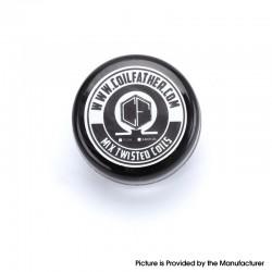 Authentic Coil Father Premium Premade Mixed Twisted Coil for RDA/RTA/RDTA Atomizer - 0.2 x 0.8 + 26GA, 0.45ohm, 7 Wraps (10 PCS)