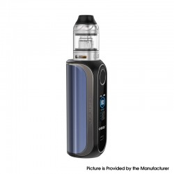 Authentic OBS Cube FP Fingerprint Unlock 80W VW Vape Box Mod Kit w/ Cube Tank - Blue, Zinc Alloy, 4ml, 5~80W, 1 x 18650