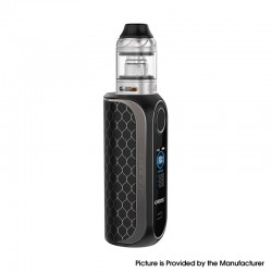 Authentic OBS Cube FP Fingerprint Unlock 80W VW Vape Box Mod Kit w/ Cube Tank - Matt Black, Zinc Alloy, 4ml, 5~80W, 1 x 18650